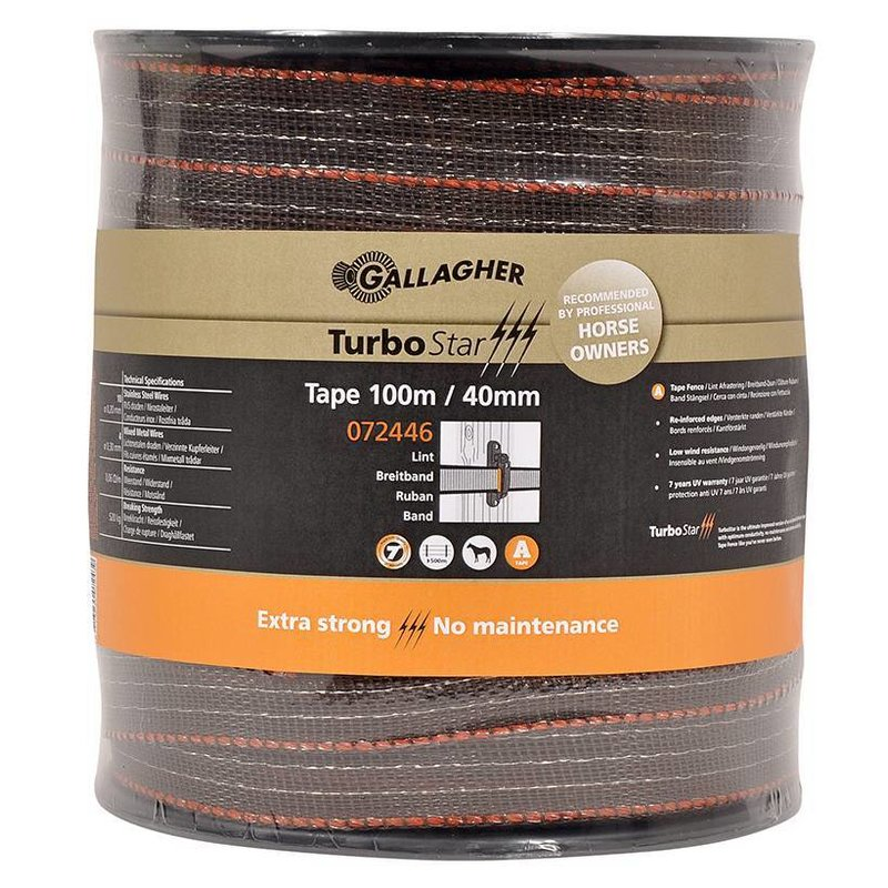 Gallagher TurboStar Super lint 40 mm terra 100 m