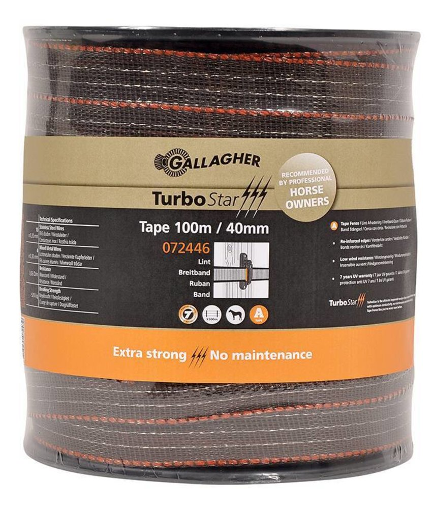 Gallagher TurboStar Super lint 40 mm terra 100 m