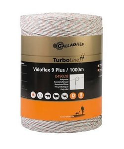 Vidoflex 9 TurboLine Plus wit 1000 m