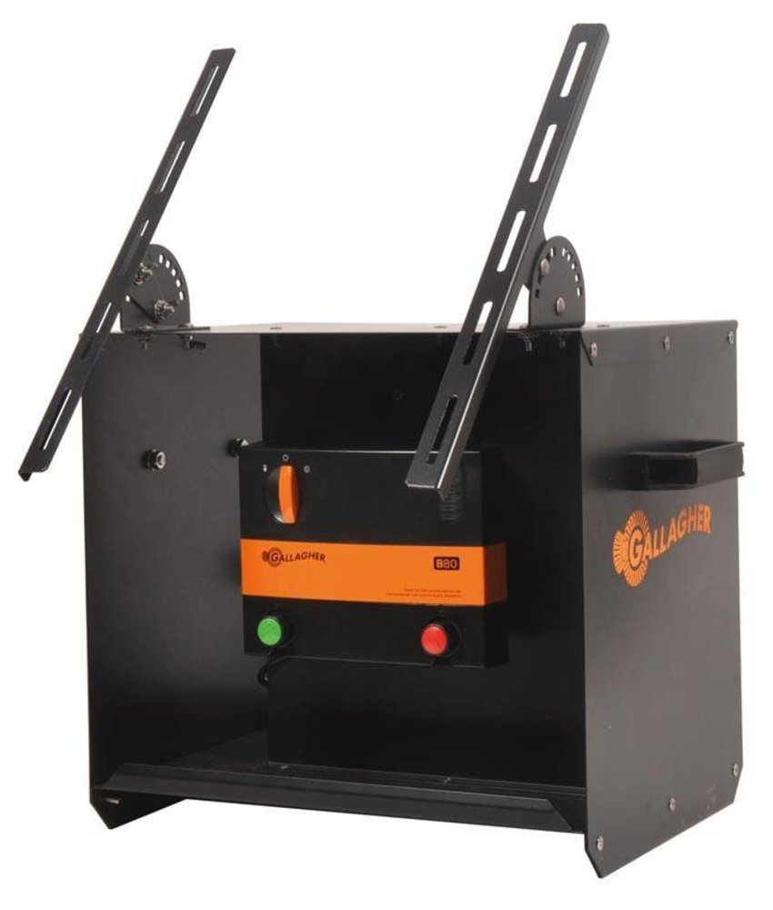 Gallagher Accu apparaat B80 + Solardraagbox