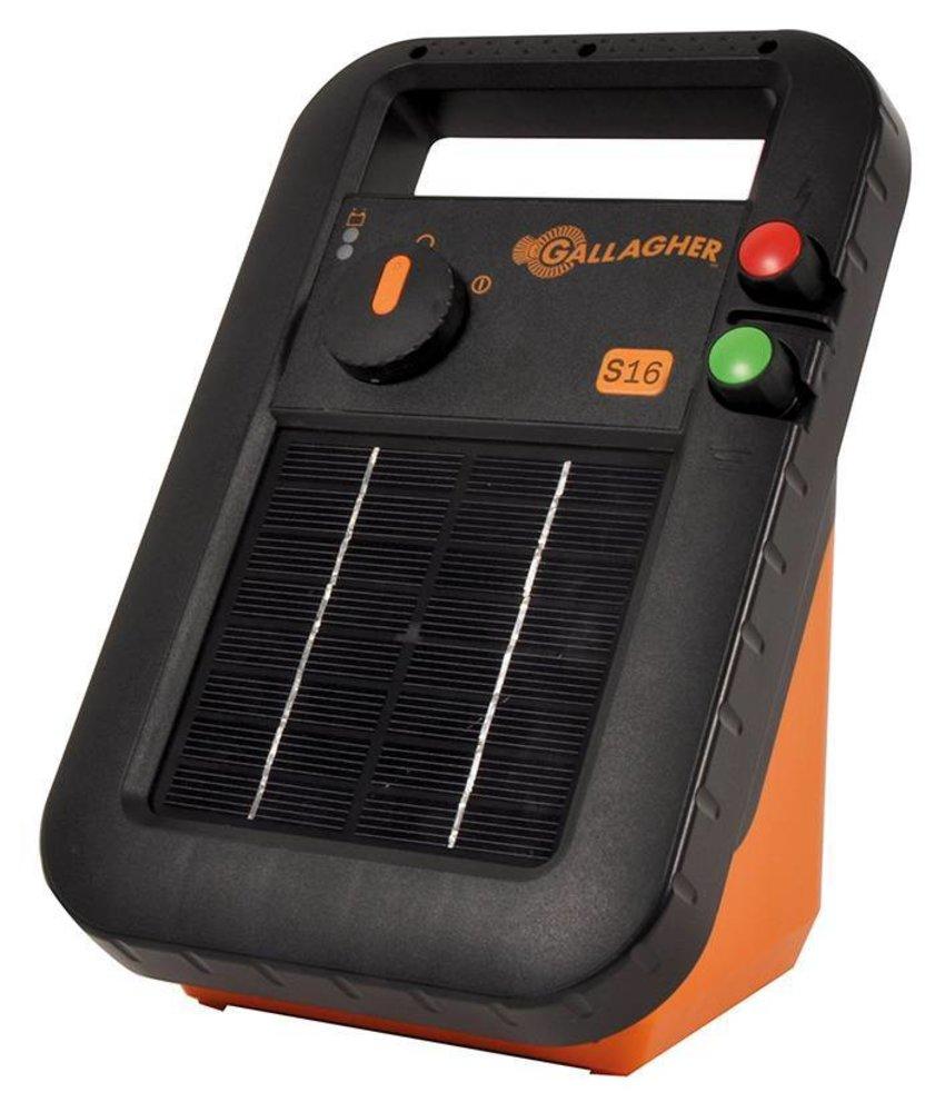 Gallagher Zonne-energie apparaat S16 (inclusief accu) Showroom