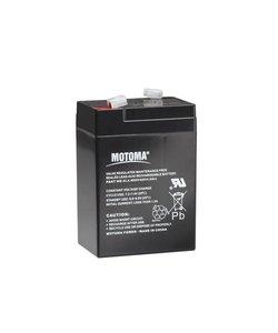 Batterij 6V 4Ah voor S10, S16 en S20
