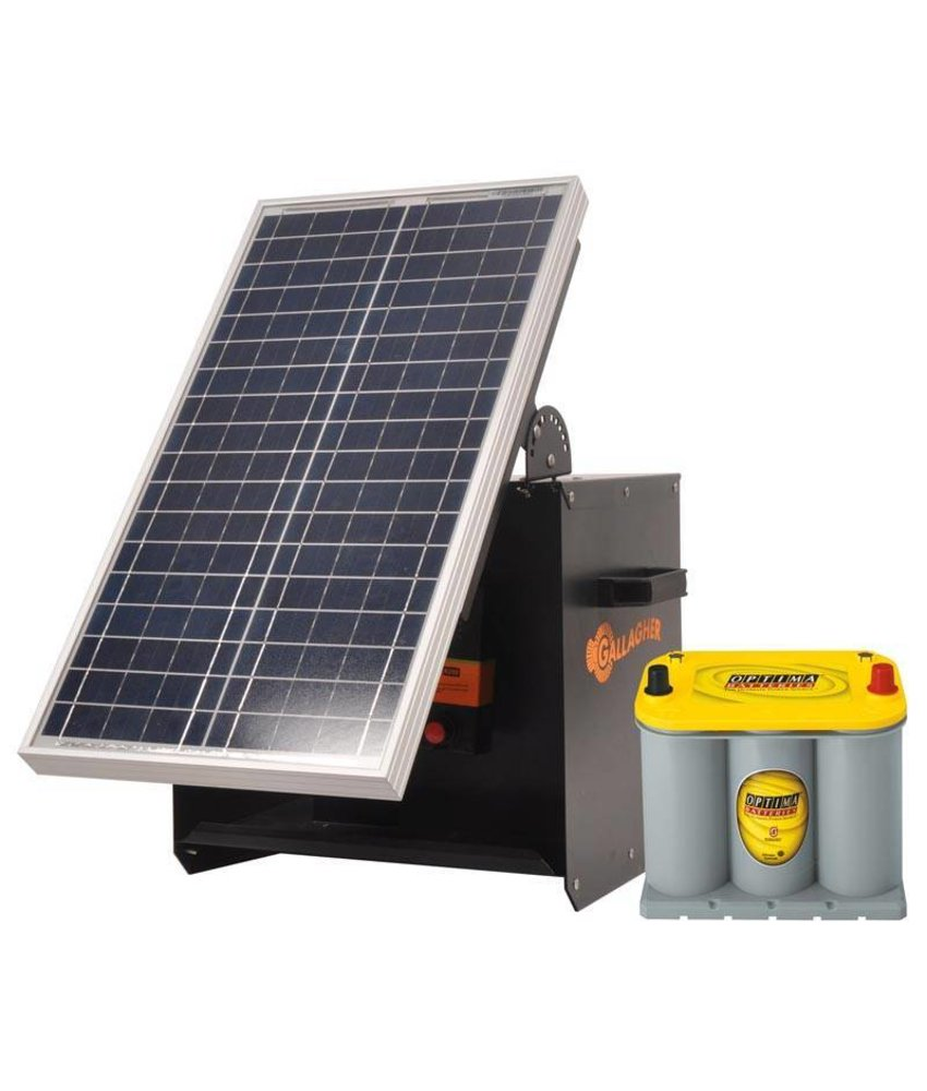 Gallagher S280 Kit Solarbox + B280+ 30W + Optima 3,7l