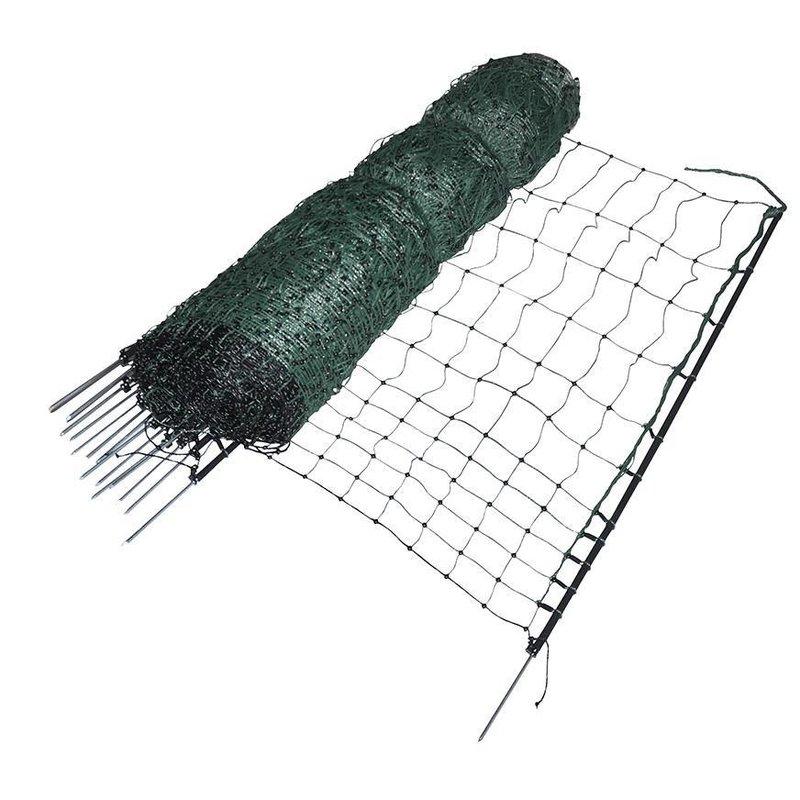 Gallagher Kippennet Groen, enkele pen 112 cm