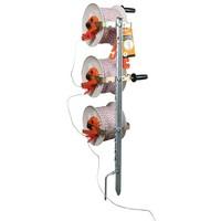 Haspelpaal incl. 3 haspels met versnelling en TurboLine cord