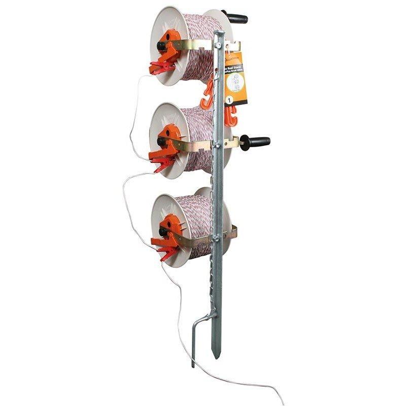 Gallagher Haspelpaal incl. 3 haspels met versnelling en TurboLine cord
