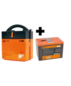 Batterij apparaat B40 + 9V Batterij