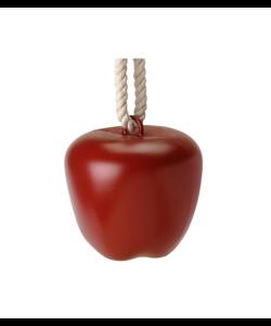 Jolly Apple rood met appelgeur 23x23 cm