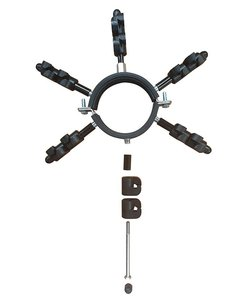 Regenpijp isolator voor marterkit (1 st.)