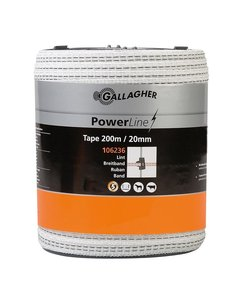 PowerLine lint 20 mm wit 200 m