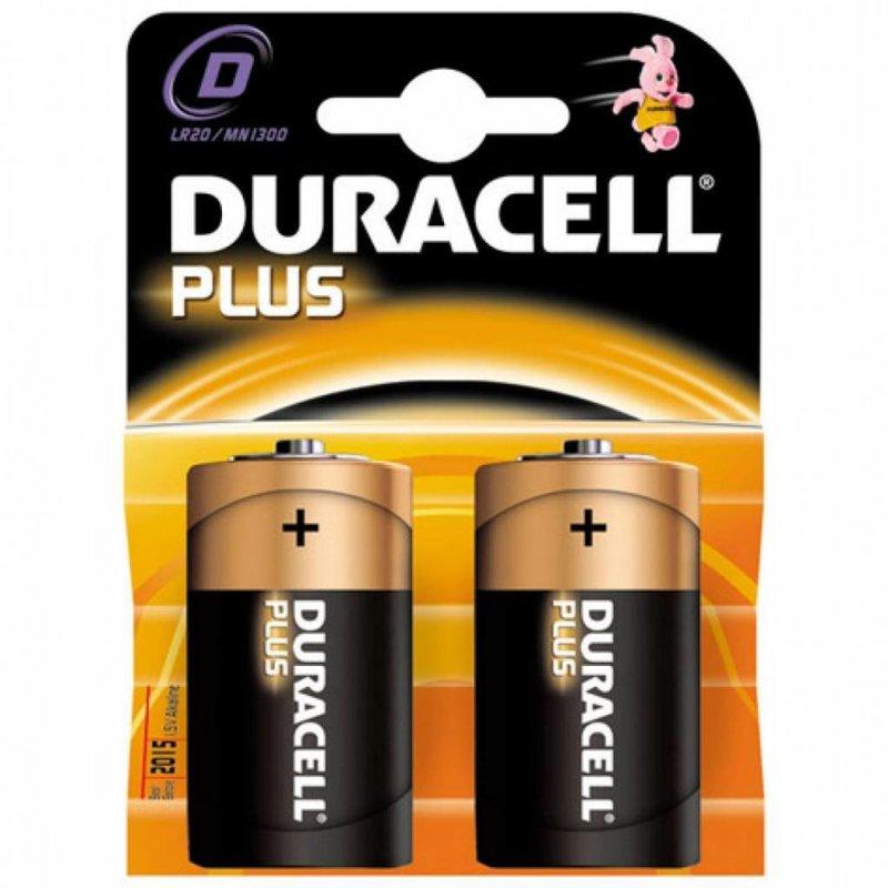 Duracell Batterij Plus type D (2 stuks)