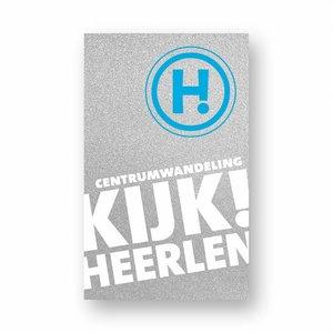 Eigen uitgave VVV Zuid-Limburg Wandelroute 'Kijk! Heerlen'