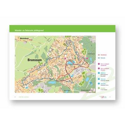 Visit Zuid-Limburg Wandel- en fietsroute Brunssum 'Mijn Geschiedenis'