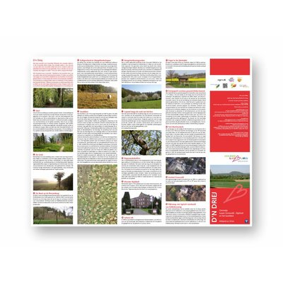 Visit Zuid-Limburg Wandelroute 'Ommetje Gronsveld' (D'n Driej)