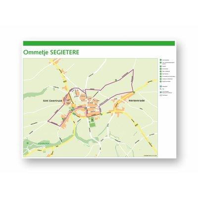 Eigen uitgave VVV Zuid-Limburg Wandelroute 'Ommetje Segietere'