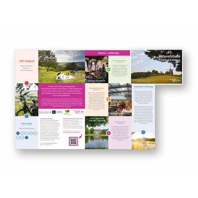 Eigen uitgave VVV Zuid-Limburg Fietsroute 'Heuvelroute Parkstad Limburg'