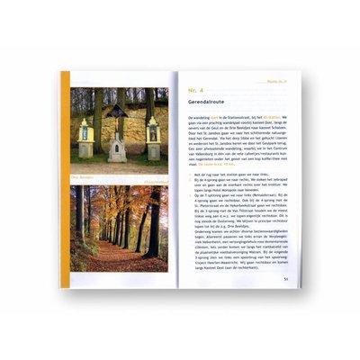 Eigen uitgave VVV Zuid-Limburg Wandelgids 'Wandelend genieten van Valkenburg aan de Geul'