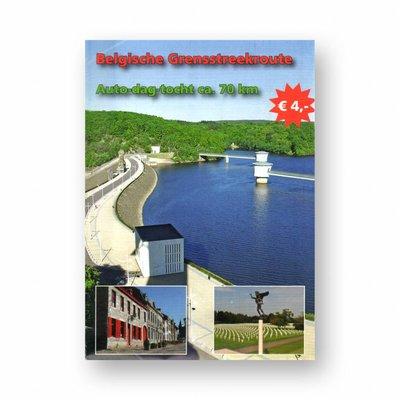 Eigen uitgave VVV Zuid-Limburg Autoroute 'Belgische Grensstreekroute'