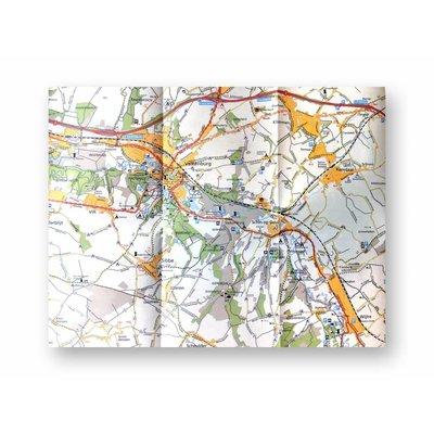 Falklplan Wandelkaart 32 Zuid-Limburg Staatsbosbeheer