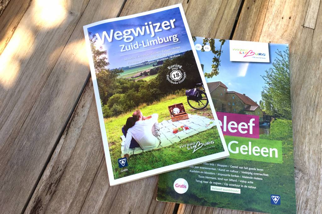Brochures over Zuid-Limburg