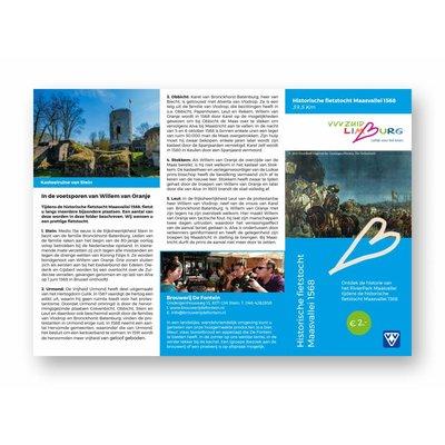 Visit Zuid-Limburg Fietsroute 'Historische fietstocht Maasvallei'