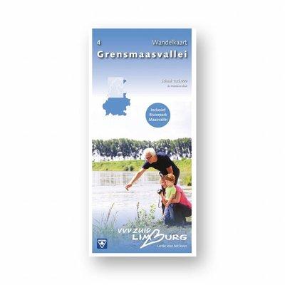 Eigen uitgave VVV Zuid-Limburg Wandelkaart 4: Grensmaasvallei