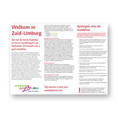Visit Zuid-Limburg Wandelkaart 1: Parkstad Limburg
