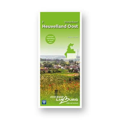 Visit Zuid-Limburg Wandelkaart 3 Heuvelland Oost