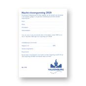 Nacht Visvergunning 2020 Volwassenen Geulpark Valkenburg