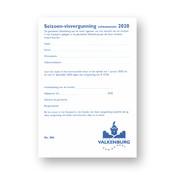 Seizoen Visvergunning 2020 Volwassenen  Geulpark Valkenburg