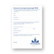 Gem. Valkenburg a/d Geul Seizoen 2021 Visvergunning Jeugd Geulpark Valkenburg