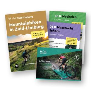 Visit Zuid-Limburg Combideal Mountainbikekaart + MOZL-Card 2021