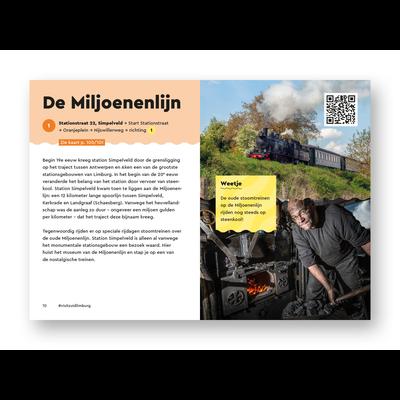 Visit Zuid-Limburg Fietsgids In het spoor van de mijnen