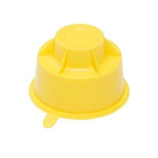 Transportdop geel