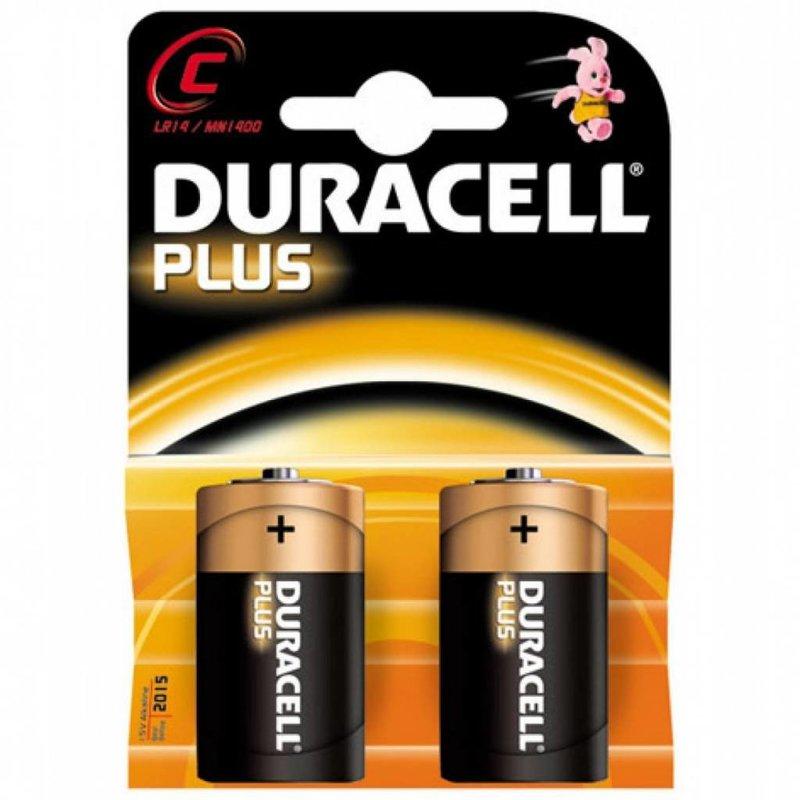 Duracell Batterijen type C (2 stuks)
