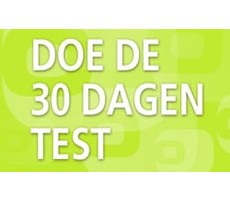 Doe de 30 dagen test!