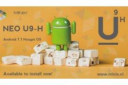 MINIX NEO U9-H Android 7.1 Nougat download & installatie instructie