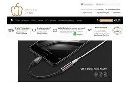 Nieuw merk Pepper Jobs met een eigen webshop.