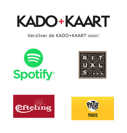 Kado+kaart Online cadeaubon KADO+KAART 10 euro