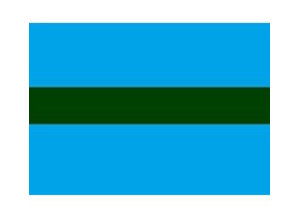 Draad 0.5 mm2 blauw/groen