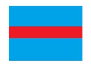 Draad 0.5 mm2 blauw/rood