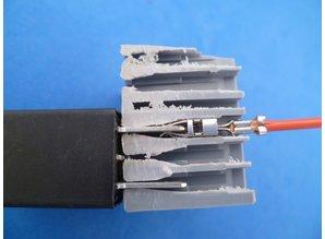 R01560 relaisvoet 4 x micro + 6 x minizekering