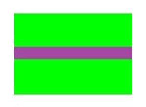 Draad 0.5 mm2 lichtgroen/paars