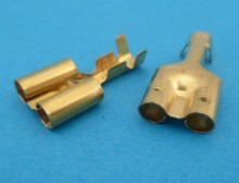 16.07301-00 dubbele bullet connector 4mm