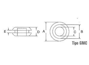 PVC afdichtdop 7,2 mm GMC-0705