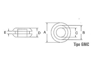 PVC afdichtdop 13,9 mm GMC-1410