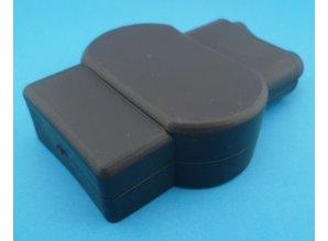Accupoolklem isolatiekap 466N9V14 zwart