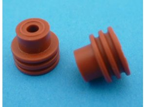 FEP-SEAL-N afdichtrubbertje voor 4,8 mm kontakten