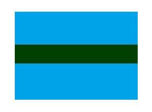 Draad 1.5 mm2 blauw/groen
