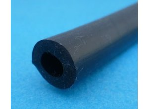 slang  6 x 13 mm zwart